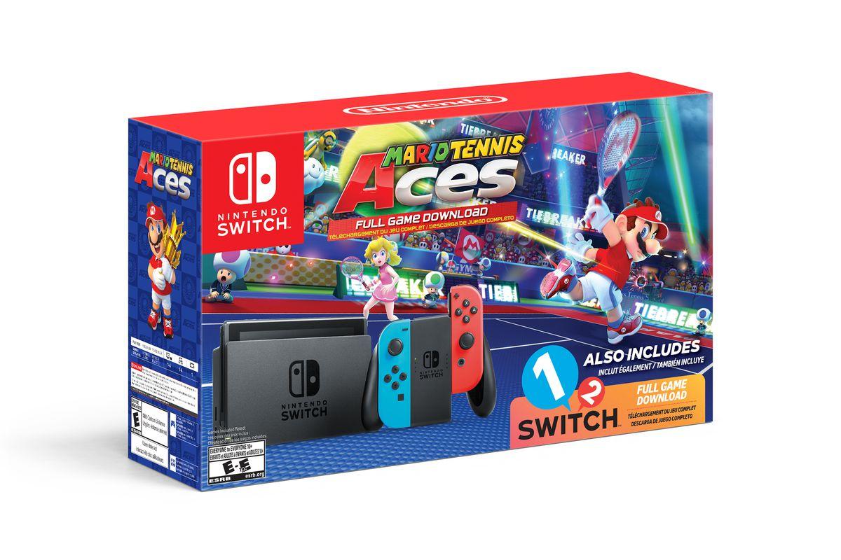 Walmarts Nintendo Switch Bundle Includes Mario Tennis
