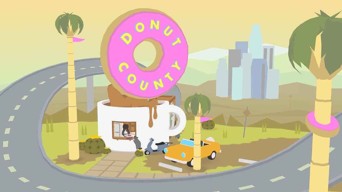 Reverse Falls Will Wallpaper Donut County Is A Game About Swallowing Los Angeles And