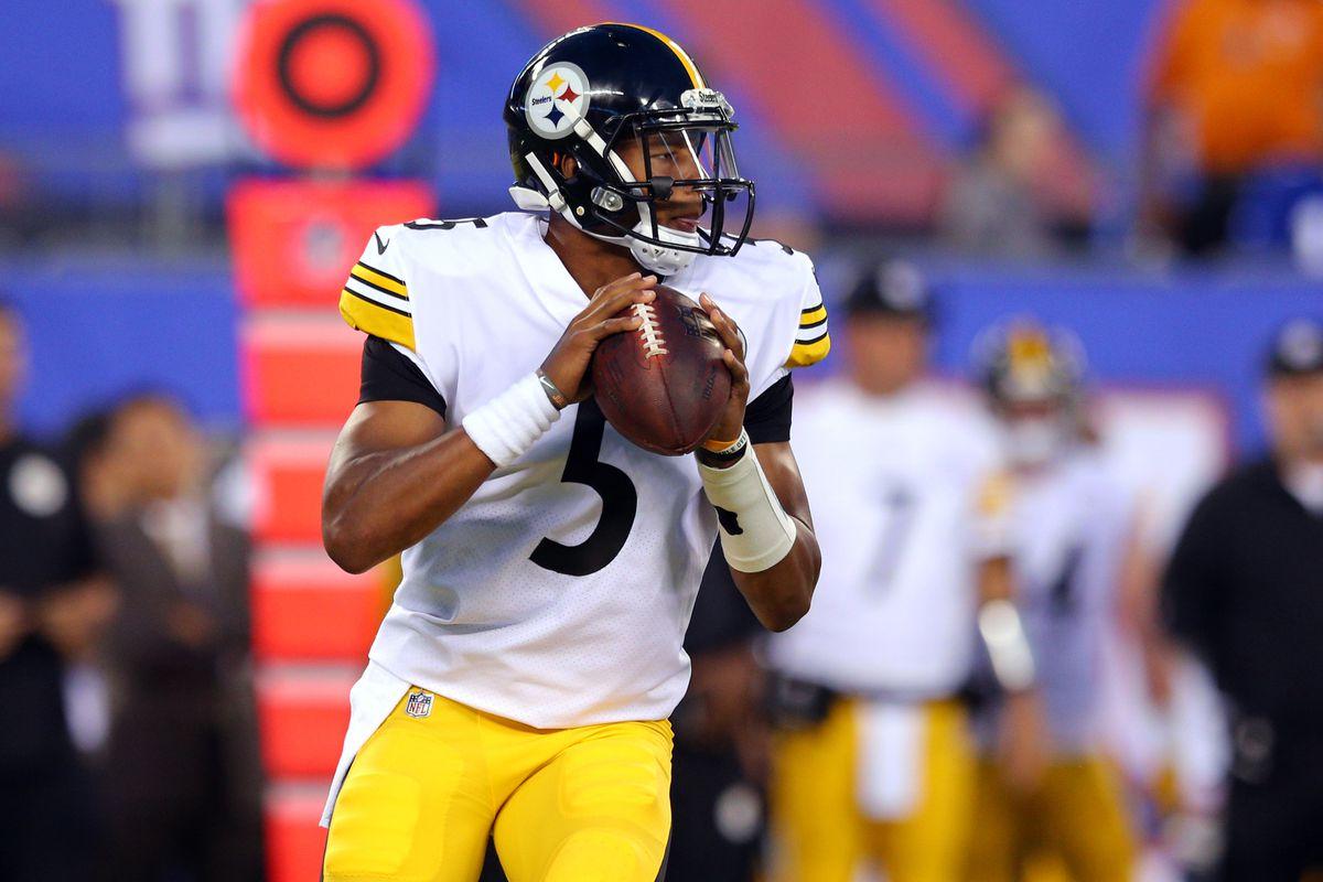 WATCH Steelers QB Josh Dobbs throws first NFL Touchdown  Rocky Top Talk