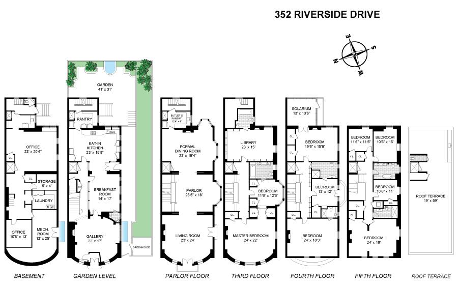 Upper West Side's opulent Riverside Drive mansion returns