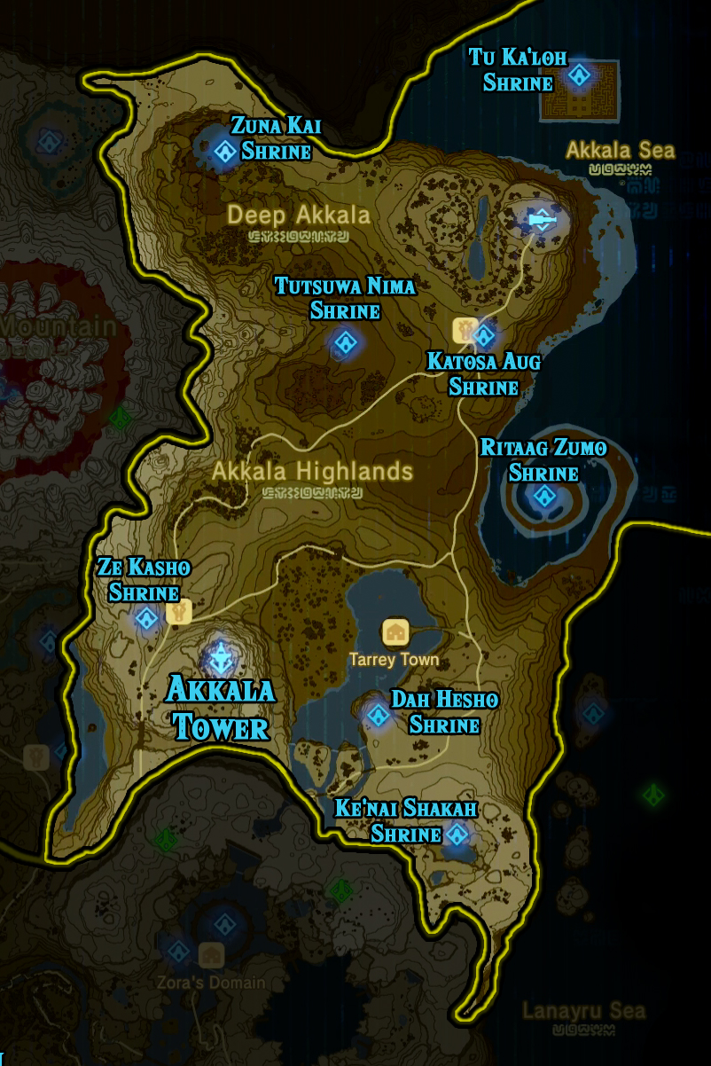 Botw Ign Map : Breath, Shrine, Locations, Maping, Resources
