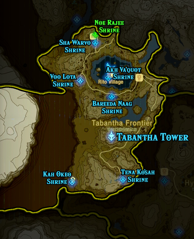 Botw Ign Map : Legend, Zelda, World, Atlas