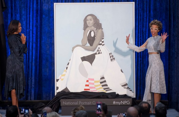 Michelle Obama Official Presidential Portrait