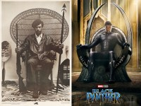 In Black Panther, Wakandas throne references real-world ...