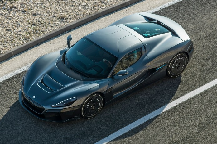 rimac's new electric hypercar can go 0–60 faster than it takes to