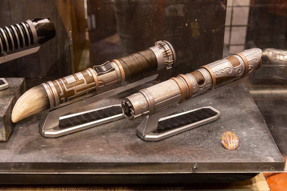 medium resolution of custom lightsabers built from elemental nature components photo charlie hall polygon