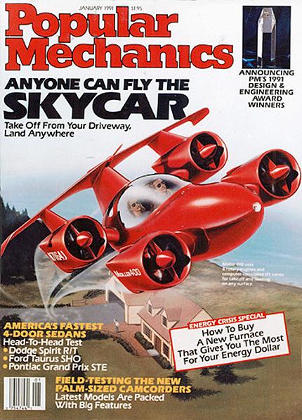 PopMech 1991 Moller SkyCar