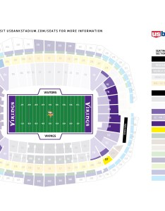 Map of us bank stadium also   seating chart frodo fullring rh