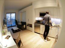 High-Tech Millennial Lifestyle Inspires Micro Apartment ...