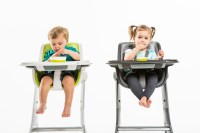 This magnetic high chair has some clever features, but it ...