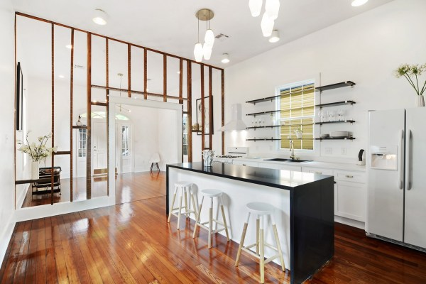 New Orleans Shotgun House Interior