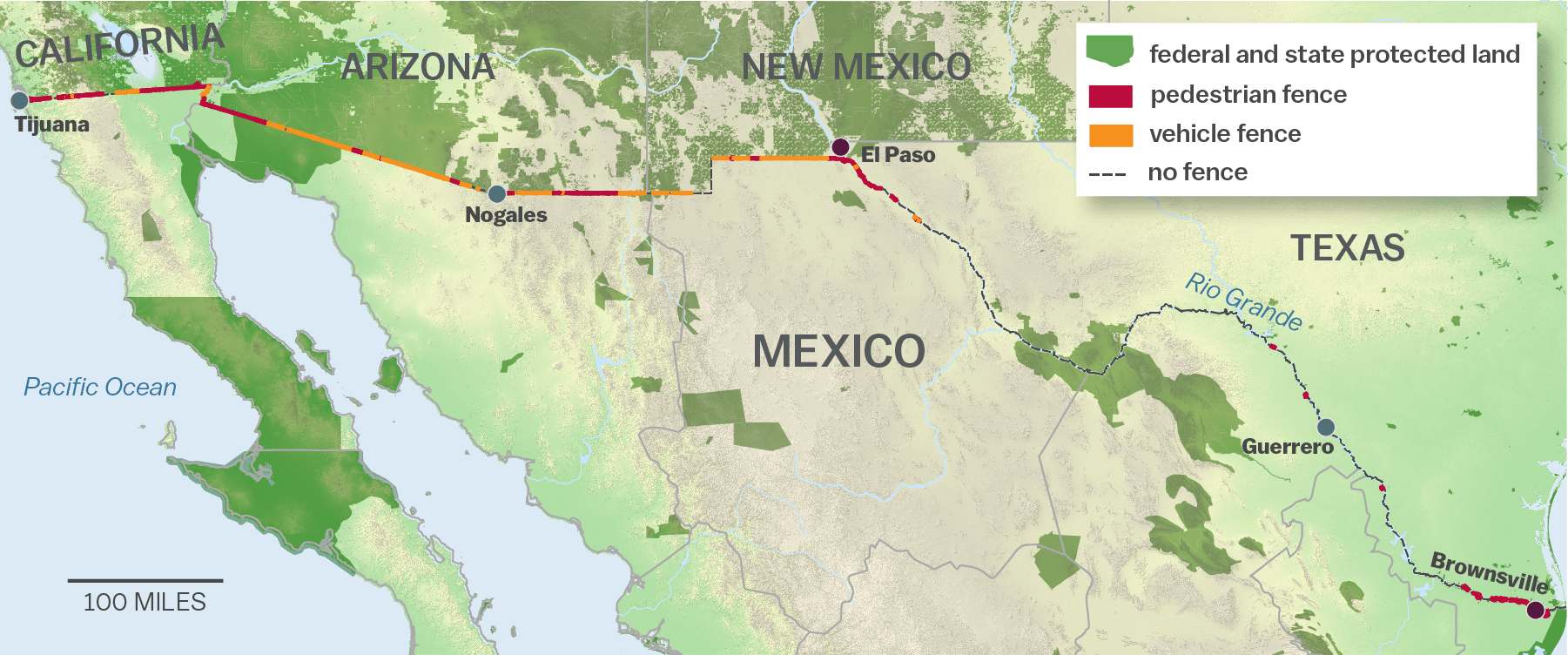 The ecological disaster that is Trumps border wall: a