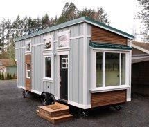 Tiny House Packs Farmhouse Chic 240 Square Feet