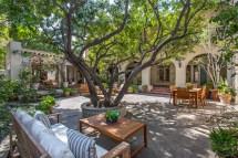 Spanish Style Home Courtyard