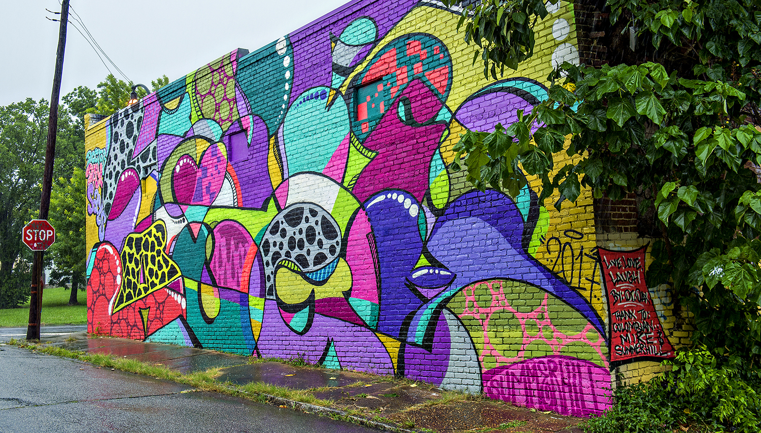 Say Hello To Atlanta's Latest Batch Of Eyepopping Street
