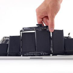 0 Amperage Macbook Battery Wiring Diagram For 6 Pin Trailer Plug Ifixits New Retina Pro Repair Kit Lets You Change