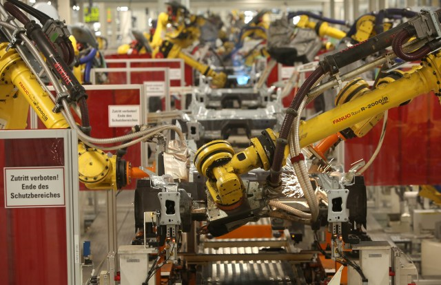 Car Production At Volkswagen Wolfsburg Plant