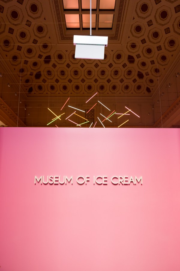 Freak Over Museum Of Ice Cream Sugary Pink Insides - Eater Sf