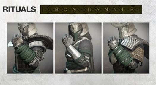 Destiny 2 - Iron Banner-themed armor