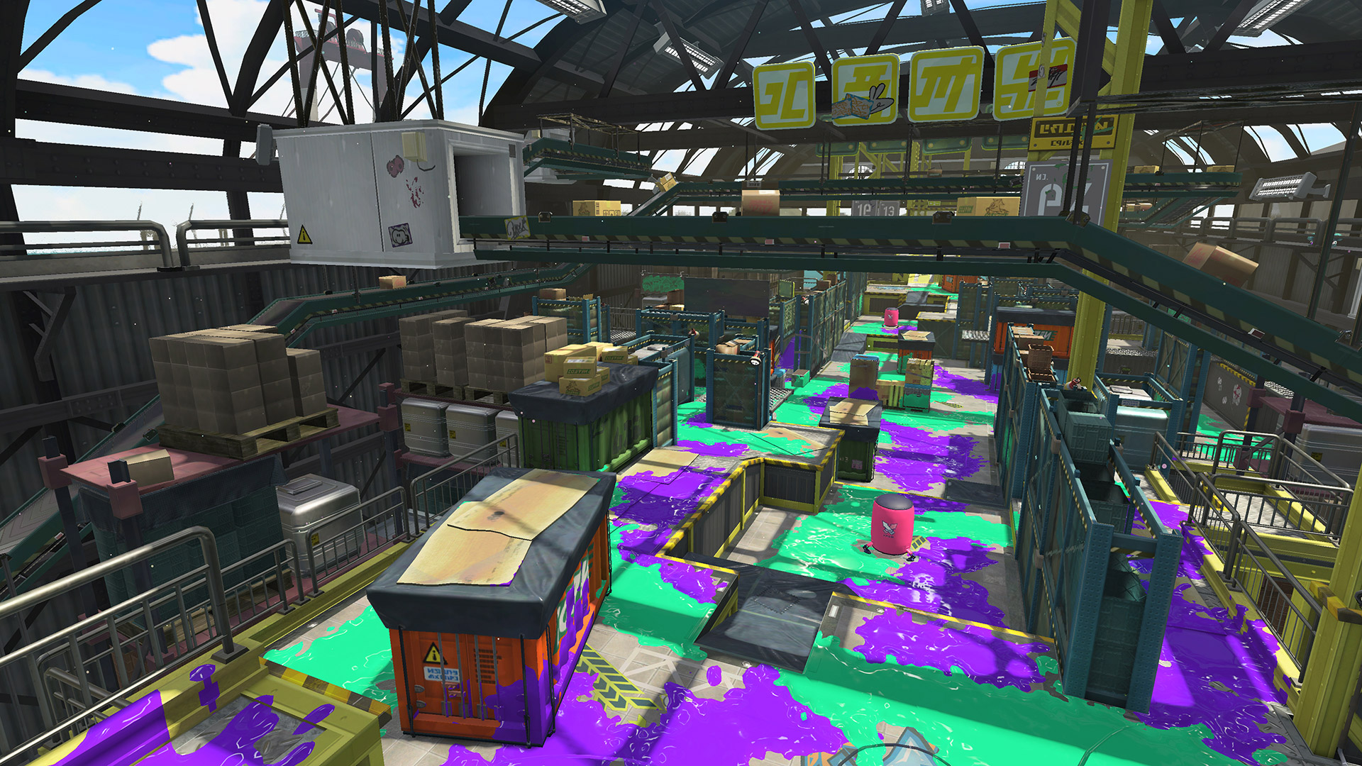 Splatoon 2 update coming this week raises level cap adds stages  Polygon