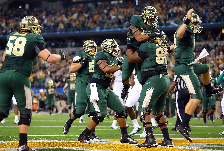 2015 Cotton Bowl Baylor Bears vs Michigan State Spartans