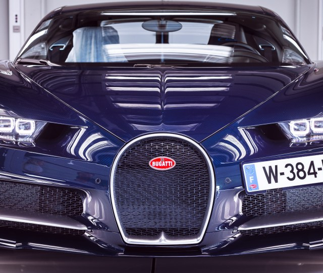 Each Bugatti Chiron Goes Through Incredibly Intense Testing Before It Can Be Delivered