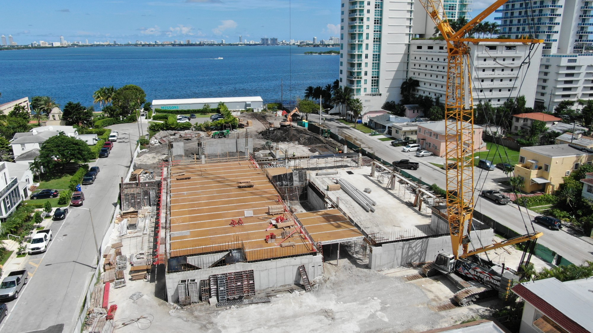 hight resolution of edgewater s missoni baia condos begin 649 foot climb