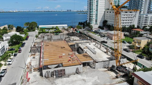small resolution of edgewater s missoni baia condos begin 649 foot climb