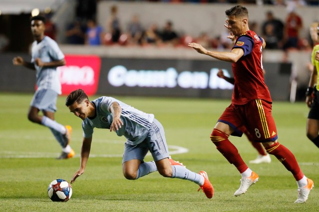 MLS: Sporting Kansas City at Real Salt Lake