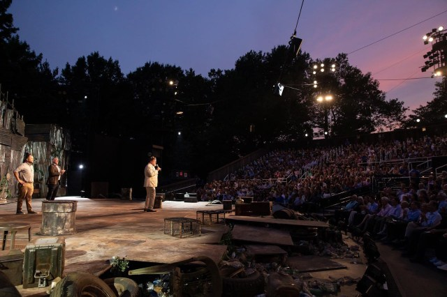 Shakespeare in the Park was shuttered during the summer of 2020 during the coronavirus outbreak.