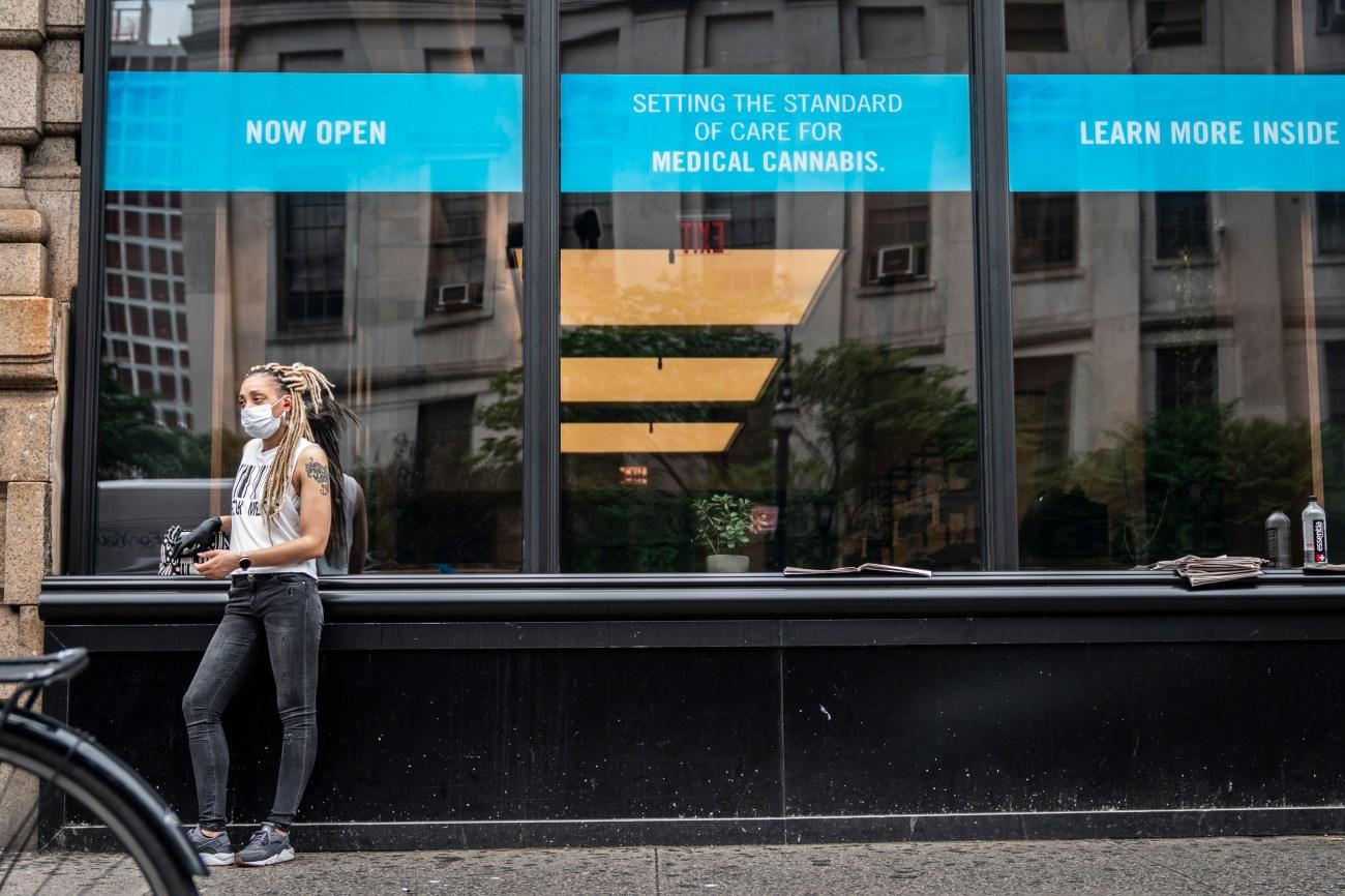 The Columbia Care medical marijuana dispensary in Downtown Brooklyn, May 29, 2020.