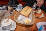 名古屋食記-コメダ珈琲店點飲品送吐司體驗名古屋早餐文化Komeda Coffee
