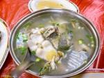 台北坪林美食-金華飯店-道地山產料理-茶油雞、鯰魚湯必點