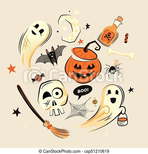 When a witch lands on your mailbox, you know it. Halloween Decorations And Characters Halloween Design Vector Decorations And Characters Canstock