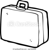 Karikatur, koffer.   CanStock