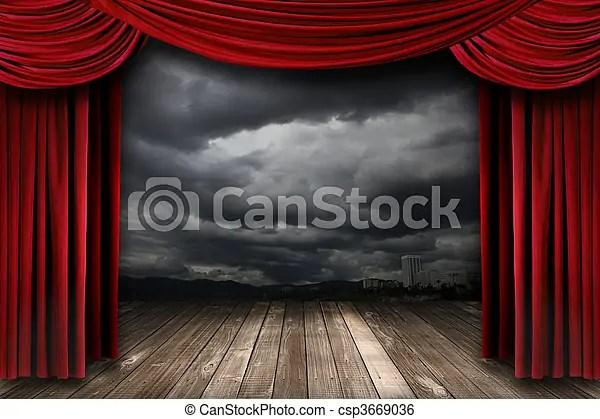 https www canstockphoto fr rideaux velours clair th c3 a9 c3 a2tre rouges 3669036 html
