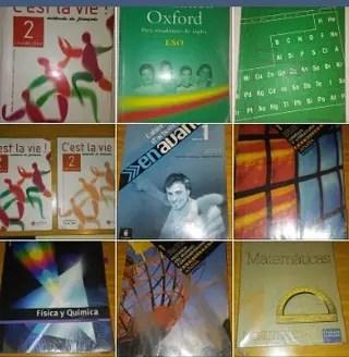 Libros de ESO y Bachillerato de segunda mano por 10  en