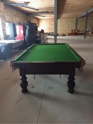Mesa de billar Snooker de segunda mano en WALLAPOP