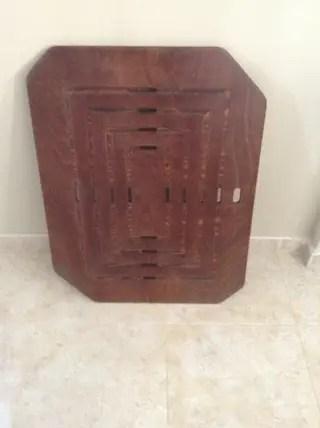 Tarima de madera de segunda mano en WALLAPOP