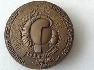 Medalla Escultura Berrocal Bronce de segunda mano por 140