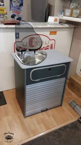 Mueble fregadero cocina camper de segunda mano por 850
