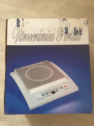 Placa Vitrocermica porttil de segunda mano en WALLAPOP