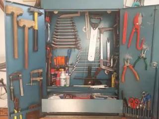 Armario para herramientas de segunda mano en WALLAPOP