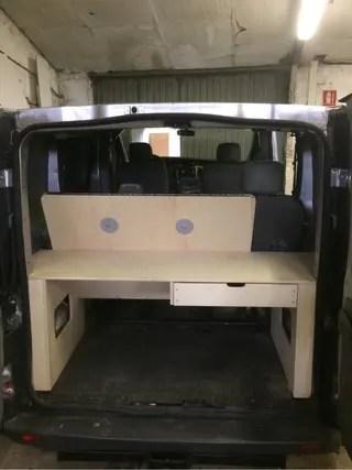 Mueble Cama Opel Vivaro de segunda mano por 390  en Gijn