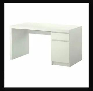 Mesa escritorio blanca mesa estudio No ikea de segunda mano por 30  en Coslada en WALLAPOP