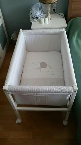 Minicuna Ikea de segunda mano en WALLAPOP