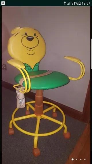 Silla escritorio con regalo balon baloncesto de segunda