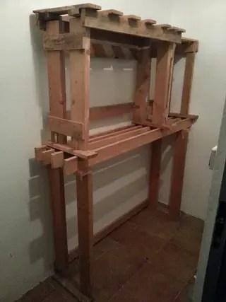 Mueble estanteria para trastero de segunda mano por 5  en