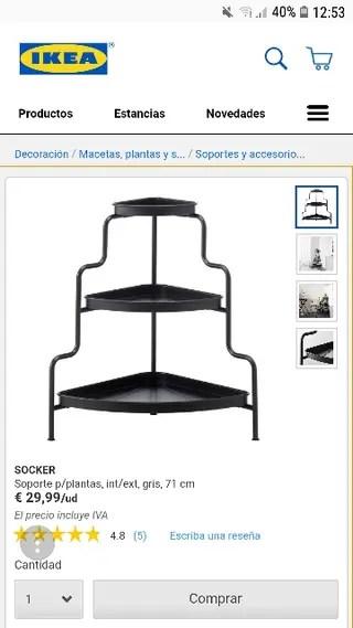 Rinconera Ikea de segunda mano en WALLAPOP