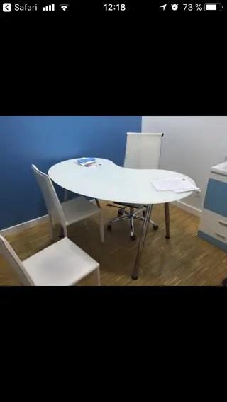 Mesa despacho Ikea de segunda mano en WALLAPOP